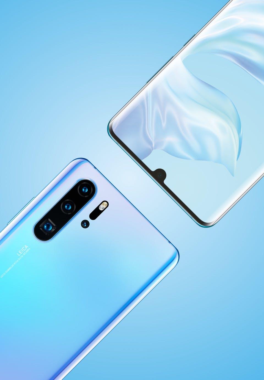Das Huawei P30 Pro von hinten. (Bild: Huawei)