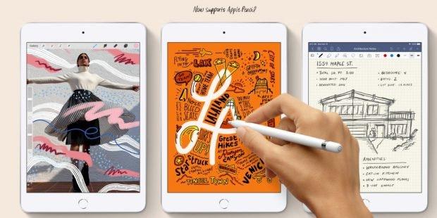 iPad mini (2019).