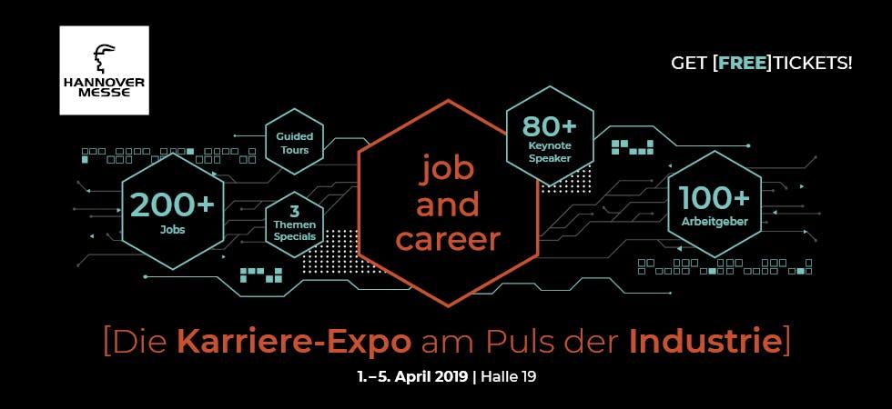 Hannover Messe Karrieremesse