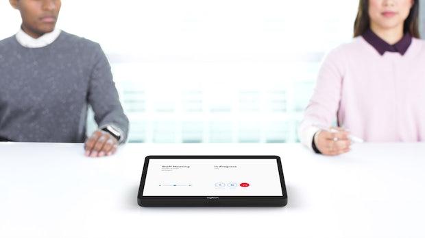 Logitech Tap: Eleganter Touchscreen-Controller für Besprechungsräume