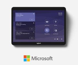 Logitech Tap unterstützt auch Microsoft Teams. (Bild: Logitech)