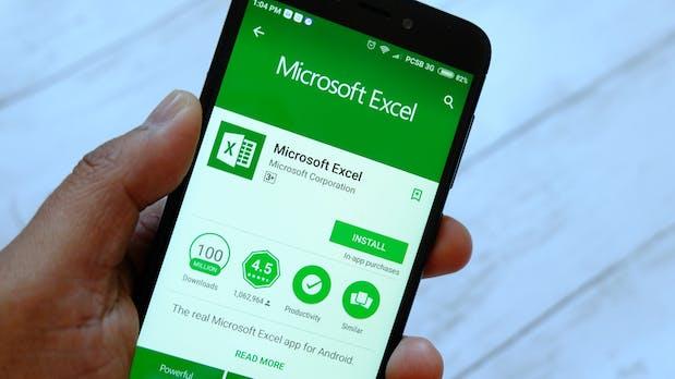 Microsoft Excel: App übernimmt Daten jetzt direkt aus Fotos