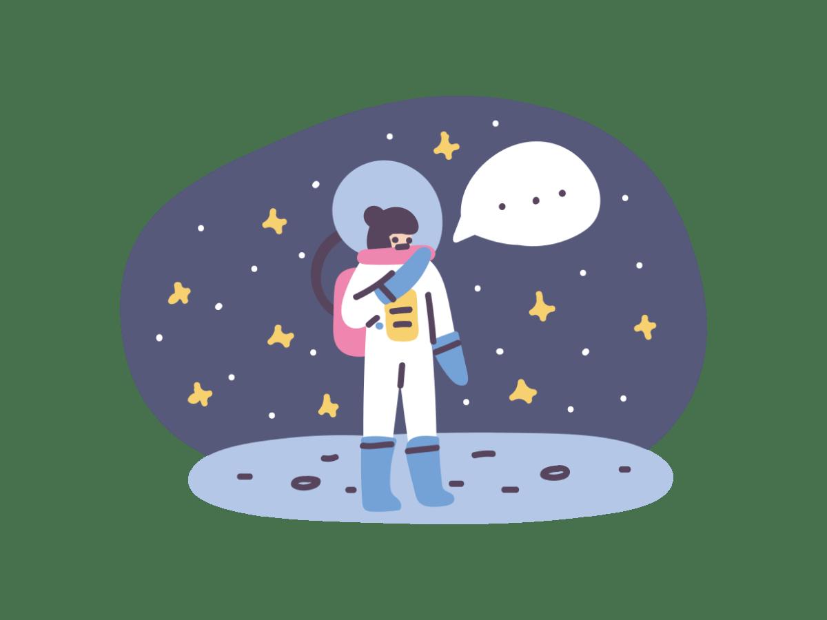 Keine Kommentare gefunden des Styles Pluto. (Grafik: Icons8)