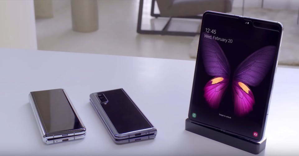 Samsung Galaxy Fold. (Screenshot: Samsung)