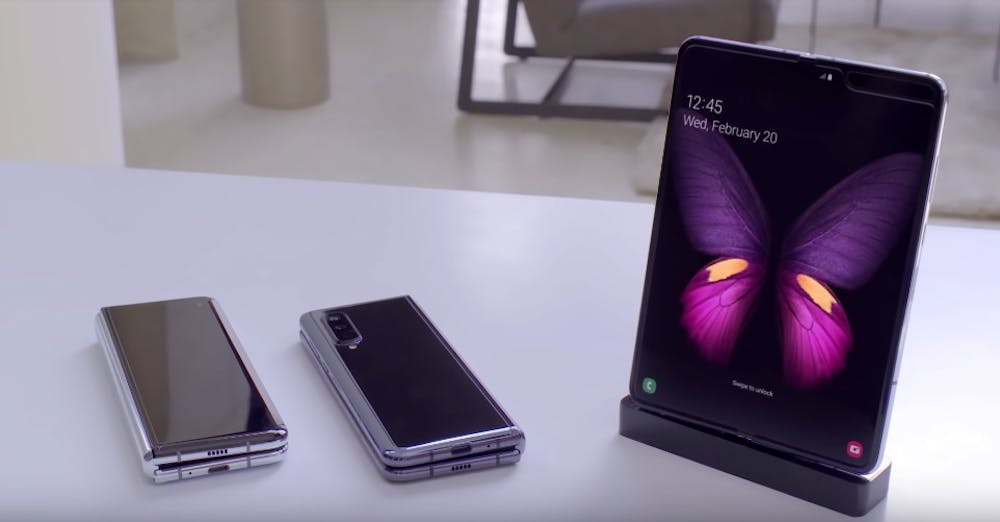 Samsung Galaxy Fold. (Screenshot: Samsung)