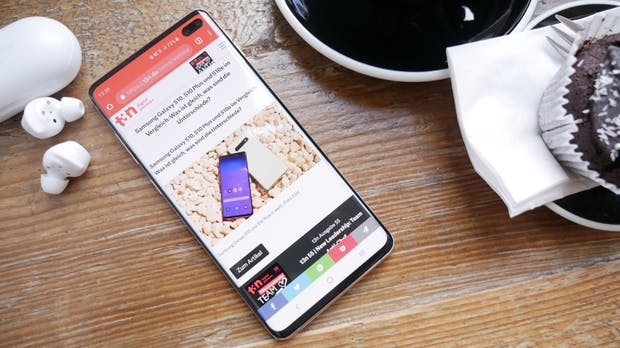 Samsung Galaxy S10 (Plus) im Test: Teurer, schneller, weitwinkliger