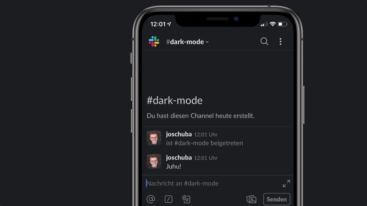 Slack bringt Dark Mode für seine Smartphone-Apps