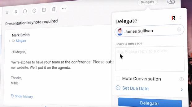 Spark lässt dich Mails jetzt delegieren – gegen das Fwd-Chaos