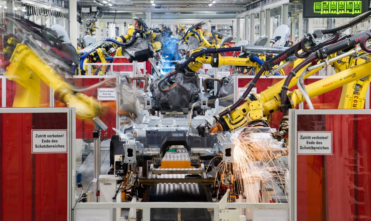 Industrie gab 2018 rund 16,5 Milliarden Dollar für Roboter aus