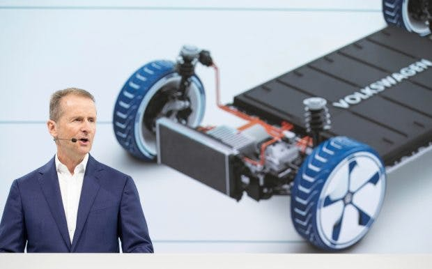 Volkswagen-Chef Herbert Diess will den Konzern grundlegend umbauen. (Foto: VW AG)