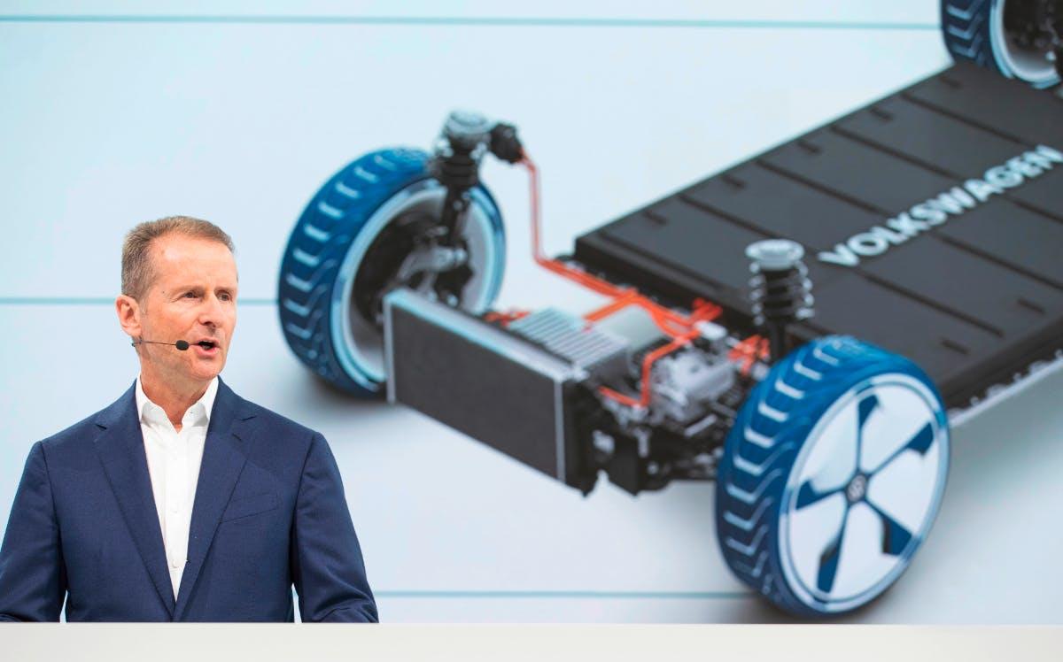 E-Mobilität: VW-Chef nennt Diskussion um alternative Antriebe irreführend
