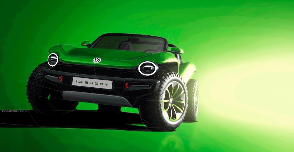 VW ID Buggy. (Bild: VW AG)