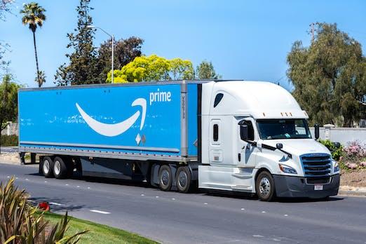 Amazon vermittelt jetzt freie LKW-Ladeflächen an alle