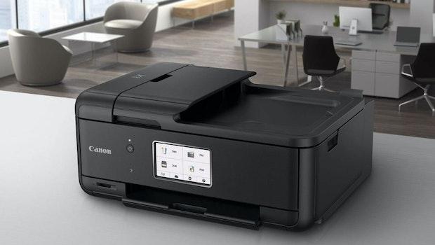 Erschwinglicher Multifunktions-Drucker Canon Pixma TR8550. (Bild: Canon)