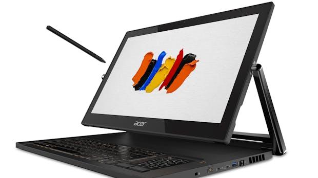 Concept-D: Acer zeigt neue Monitore, Desktops und Laptops für Kreative