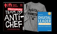 "Dein t3n Abo inklusive dem Haufe-Fachbuch ""Digital Leader Gamebook"""