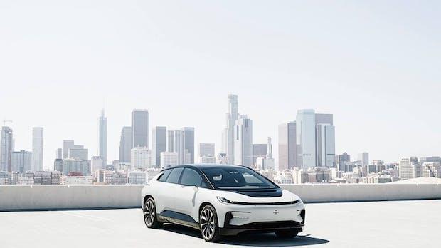 V9 Concept: Chinesischer Tesla-Rivale Faraday Future kündigt neues E-Auto an