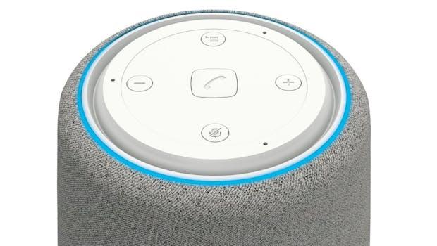 Die Bedienelemente des Gigaset Smartspeaker L800HX. (Bild: Gigaset)