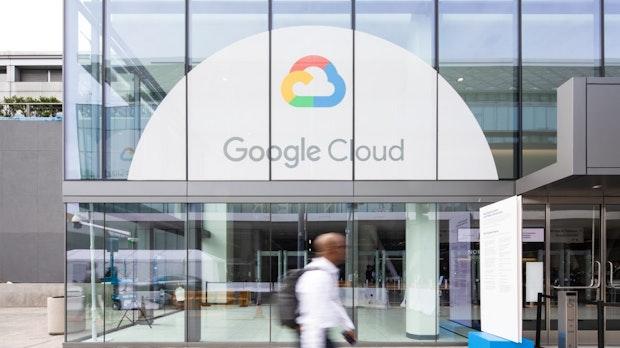 Google Cloud macht nur ein Viertel des Umsatzes von Amazons Web Services
