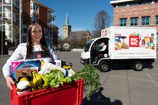 Gratislieferung: Online-Supermarkt Picnic will in Deutschland rasant wachsen