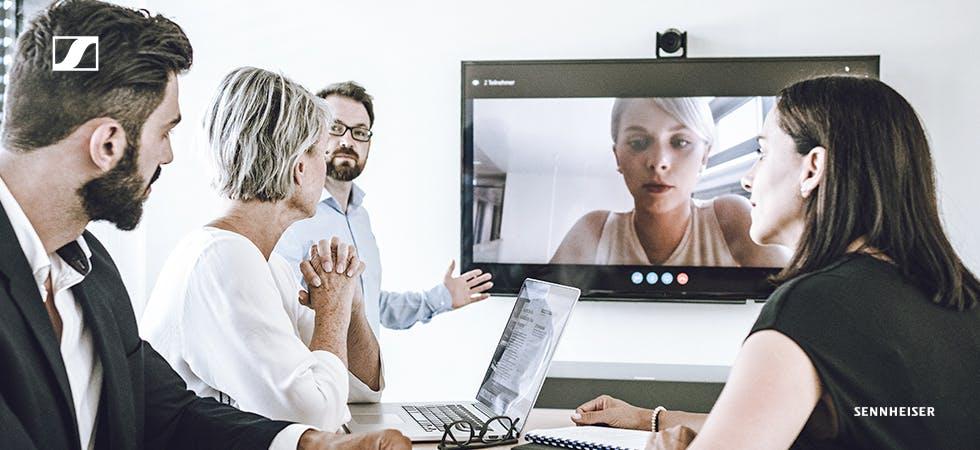 Standortübergreifende Meetings