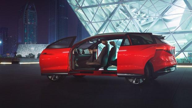 VW ID Roomzz Concept. (Bild: VW)