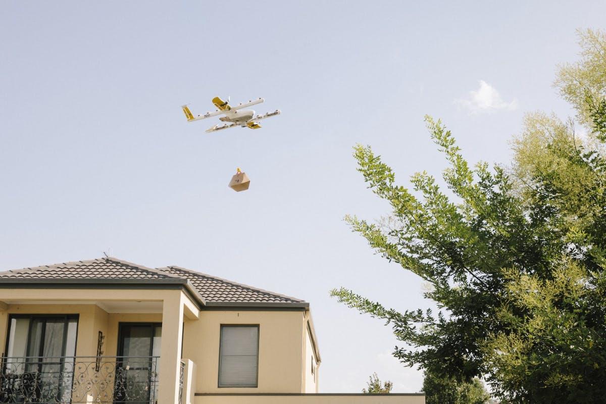 Wing: Googles Drohnenlieferdienst Wing startet offiziell in Australien
