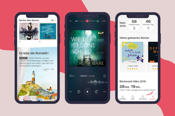 E-Book- und Hörbuch-Flatrate Nextory