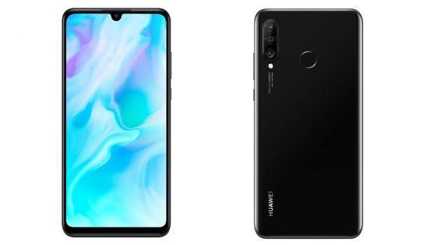 Huawei P30 Lite in Schwarz. (Bild: Huawei)