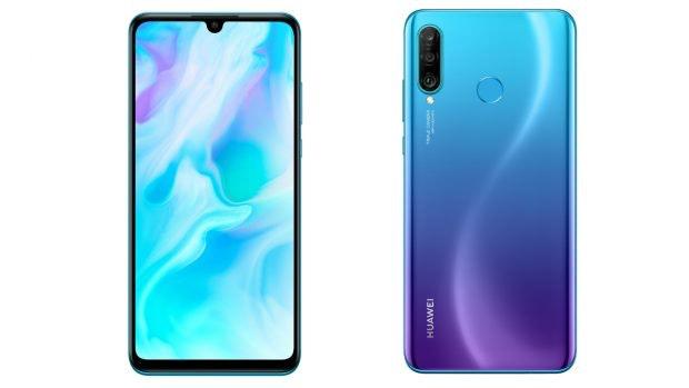 Huawei P30 Lite in Peacock Blue. (Bild: Huawei)