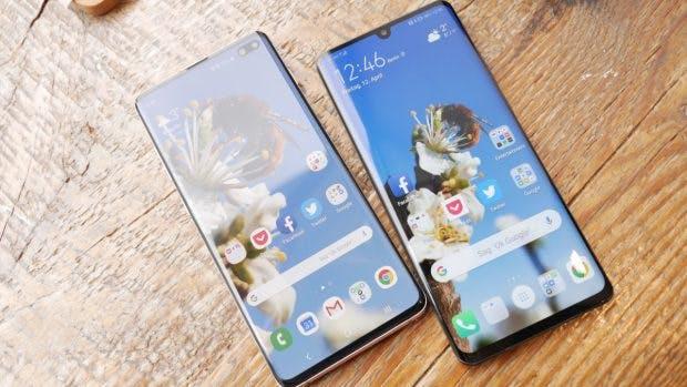 Huawei P30 Pro vs Samsung Galaxy S10 Plus. (Foto: t3n)