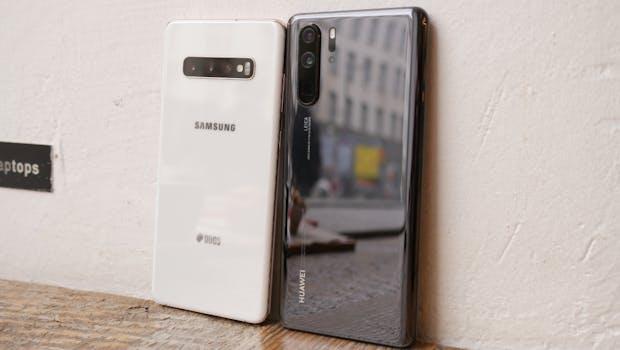 Huawei P30 Pro vs. Samsung Galaxy S10 Plus. (Foto: t3n)