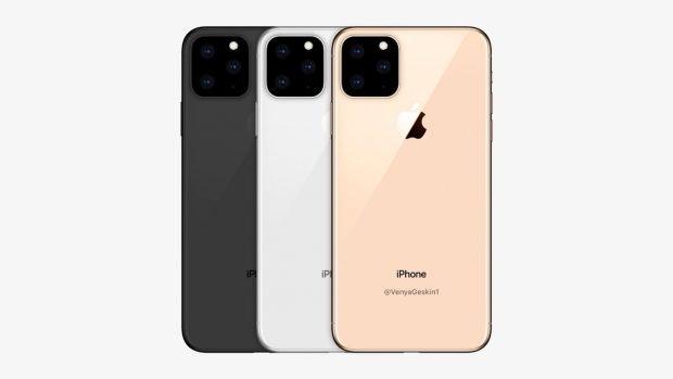So könnte das 2019er iPhone aussehen. (Mockup: Venja Geskin)