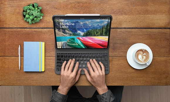 Logitech stellt sein erstes Keyboard fürs neue iPad Pro vor