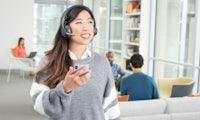 Kabelloses Headset, kabellos aufladbar – Logitech Zone Wireless mit Geräuschunterdrückung