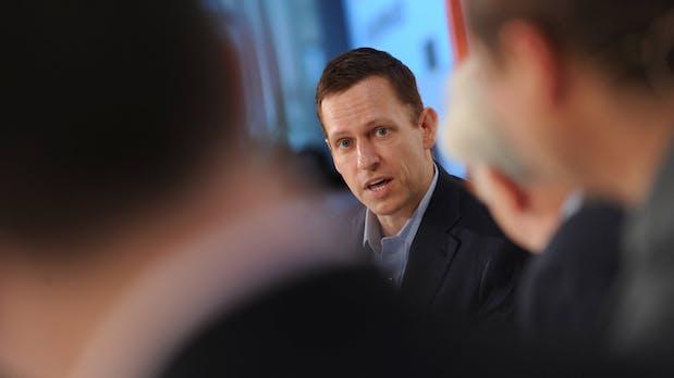 Peter Thiel schwingt die nächste Verbalkeule gegen das Silicon Valley