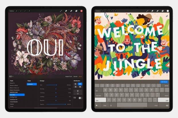 Mit dem neuen Werkzeug können Illustratoren Text kreativ einsetzen. (Bild: Savage)