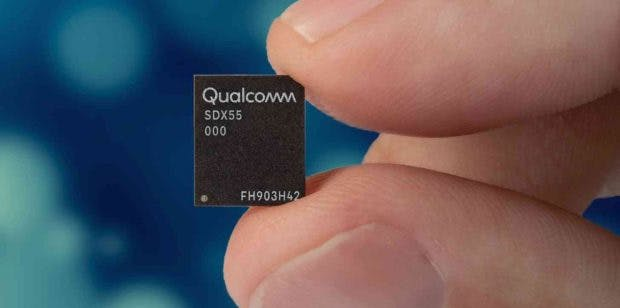 Qualcomms 5G-Modem X55. (Bild: Qualcomm)