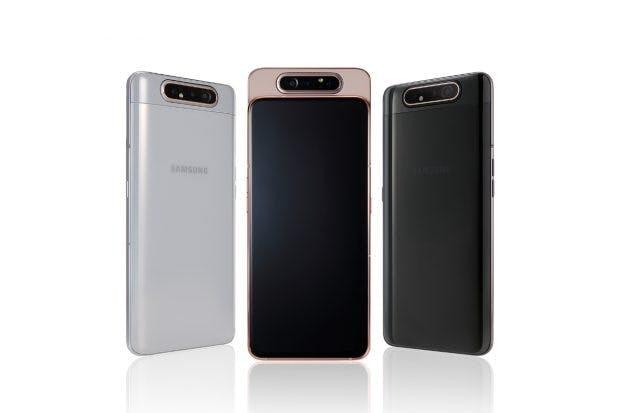 Samsung Galaxy A80. (Bild: Samsung)