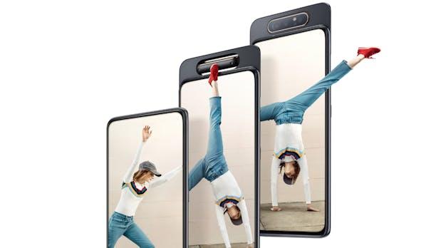 Mit rotierender Triple-Cam und ohne Loch im Display: Das Samsung Galaxy A80 ist offiziell