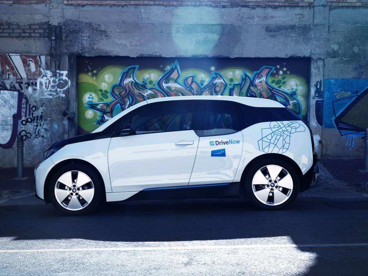 Share Now: Ein Viertel der Flotte besteht aus Elektro-Autos