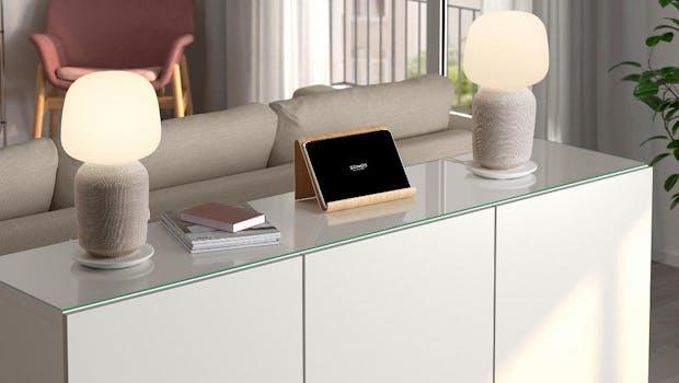 Die Ikea Symfonisk Tischlampen-Speaker lassen sich auch zu Stereospeakern paaren.(Foto: Sonos)