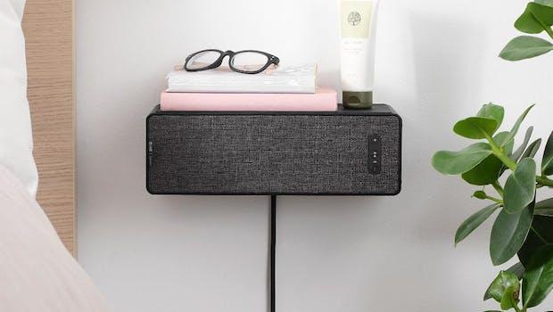 Als Nachttisch nutzbar: Ikea Symfonisk Regal-Speaker.(Foto: Sonos)