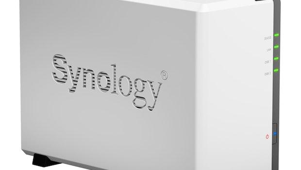 Sieger-NAS für zwei Festplatten:  Synology Diskstation DS218J. (Bild: Synology)