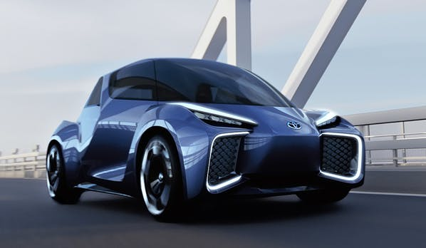 Rhombus Neues E Auto Von Toyota Im Rikscha Style