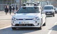 Autonom durch die City – VW testet selbstfahrende Autos in Hamburg