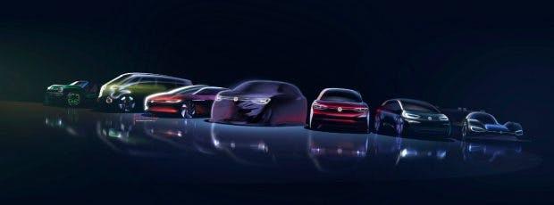 Die VW-ID-Familie wird allmählich größer. (Bild: VW AG)