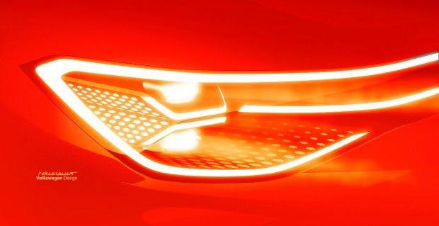 Das VW ID Roomzz SUV soll sich am ID Crozz orientieren. (Bild: VW)