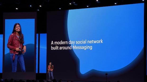 Facebook-Konferenz F8: Messenger ist der neue Newsfeed