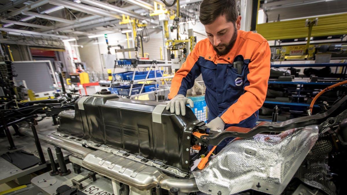 Rennen um Batterie: Volvo sichert sich Zugang zu Akkus für Elektroautos